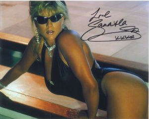 Samantha Fox (Model, Singer) - Genuine Signed Autograph 8289